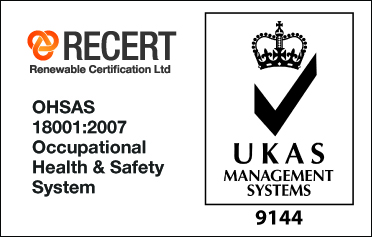 OHSAS and UKAS logo